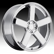 DropStars DS44 644C Chrome Custom Rims Wheels