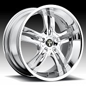 Dub Phase 5 S104 Chrome Custom Wheels Rims