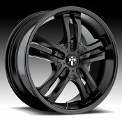 Dub Phase 5 S106 Matte Black Custom Wheels Rims