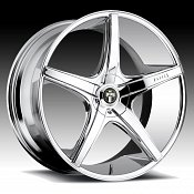 Dub Rio 5 S112 Chrome Custom Wheels Rims