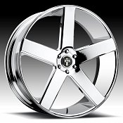 Dub Baller S115 Chrome Custom Wheels Rims