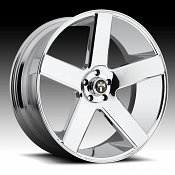 Dub Baller S115 Old School Chrome Custom Wheels Rims
