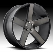 Dub Baller S116 Machine Black DDT Custom Wheels Rims
