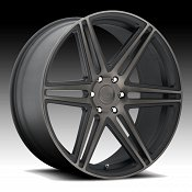 Dub Skillz S123 Machined Black DDT Custom Wheels Rims
