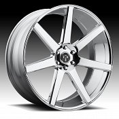 Dub Future S126 Chrome Custom Wheels Rims