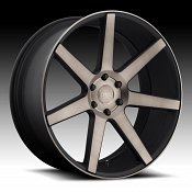 Dub Future S127 Machine Black DDT Custom Wheels Rims