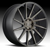 Dub Chedda S128 Machined Black DDT Custom Wheels Rims