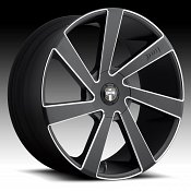 Dub Directa S133 Black Milled Custom Wheels Rims