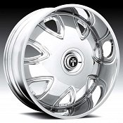 Dub Bandito S136 Chrome Custom Wheels Rims
