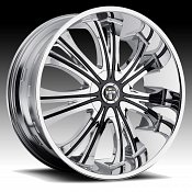 Dub Mamba S139 Chrome Custom Wheels Rims