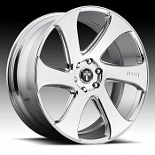 Dub Swerv S129 Chrome Custom Wheels Rims