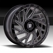 Fittipaldi Offroad Forged FTF01 Gloss Black Milled Custom Wheels Rims