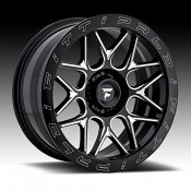 Fittipaldi Offroad Forged FTF02 Gloss Black Milled Custom Wheels Rims