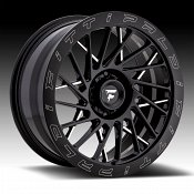 Fittipaldi Offroad Forged FTF03 Gloss Black Milled Custom Wheels Rims