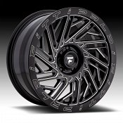 Fittipaldi Offroad Forged FTF05 Gloss Black Milled Custom Wheels Rims