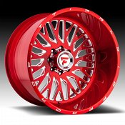Fittipaldi Offroad Forged FTF07 Red Tint Custom Wheels Rims