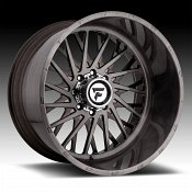 Fittipaldi Offroad Forged FTF08 Brushed Black Tint Custom Wheels Rims