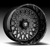 Fittipaldi Offroad Forged FTF10 Gloss Black Milled Custom Wheels Rims