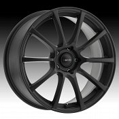 Focal 448SB F-20 Satin Black Custom Wheels Rims