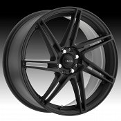 Focal 449SB F-14 Satin Black Custom Wheels Rims