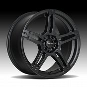 Focal 451SB F-51 Satin Black Custom Wheels Rims
