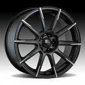 Focal 452SB F-52 Satin Black Custom Wheels Rims