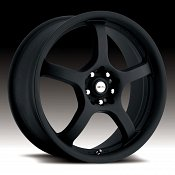 Focal F05 F-05 166 Matte Black Custom Rims Wheels