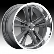 Foose F099 Knuckle Gunmetal Custom Wheels Rims