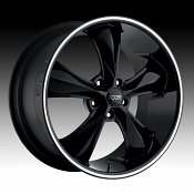Foose F104 Legend Gloss Black Custom Wheels Rims