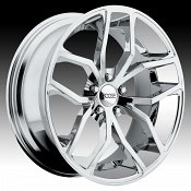 Foose F148 Outcast Chrome Custom Wheels Rims