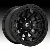 Fuel Covert Beadlock D114 Satin Black Custom Wheels Rims