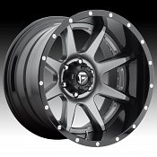 Fuel D238 Rampage 2-PC Anthracite / Gloss Black Custom Truck Whe
