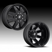 Fuel Maverick Dually D436 Satin Black Custom Wheels Rims