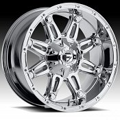 Fuel Hostage D529 Chrome PVD Custom Truck Wheels Rims