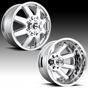 Fuel Maverick Dually D536 Chrome Custom Wheels Rims