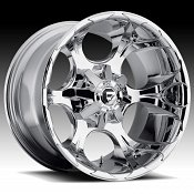 Fuel Dune D539 Chrome PVD Custom Truck Wheels Rims