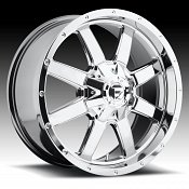 Fuel Frontier D543 Chrome PVD Custom Truck Wheels Rims