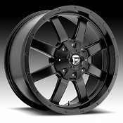 Fuel Frontier D545 Matte Black Custom Truck Wheels Rims