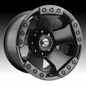 Fuel Monsta D577 Matte Black Custom Truck Wheels Rims