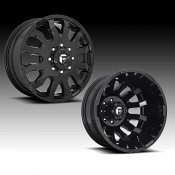 Fuel Blitz Dually D675 Gloss Black Custom Wheels Rims