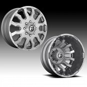 Fuel Blitz Dually D693 Platinum Custom Wheels Rims