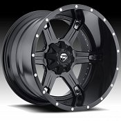Fuel D256 Driller 2-PC Matte Black Truck Wheels Rims