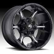 Fuel Dune D523 Matte Black Milled Truck Wheels Rims