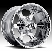Fuel Dune D522 Chrome Truck Wheels Rims