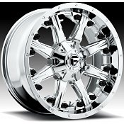 Fuel Nutz 1-PC D540 Chrome PVD Truck Wheels Rims