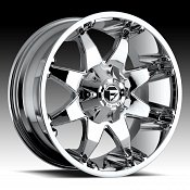 Fuel Octane D520 Chrome PVD Truck Wheels Rims