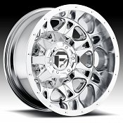Fuel D512 Throttle Dually Chrome Truck Wheels Rims