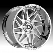 Gear Offroad 761C Ratio Chrome Custom Truck Wheels
