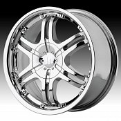 Helo HE832 832 Chrome Custom Rims Wheels