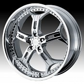 Helo HE834 834 Chrome Custom Rims Wheels